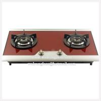 China Red Color Kitchen Gas Stove Top/Cooktop with High Quality Glass on sale