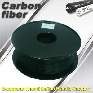 CarbonFiber 3D Printing Filament  .Black Color,0.8kg / Roll ,1.75mm 3.0mm Manufactures