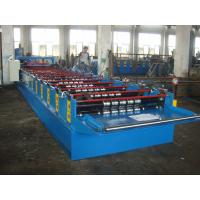 12 - 16m/min forming speed roof panel sheet roll forming machine Manufactures