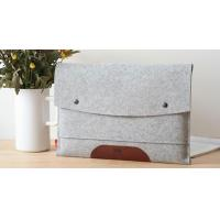 China PU leather notebook with button closure on sale