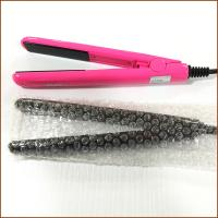 China Good quality and safe mini hair straightener hair iron for household use with CE, ROHS,IEC approval on sale
