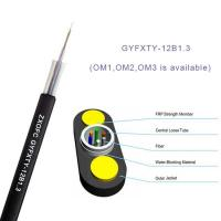 China Gyfxty Outdoor Non Metallic Fiber Optic Cable 12 Core Single Mode G652D 30M Span Length on sale