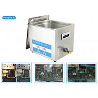 600W Heating Power Ultrasonic PCB Cleaner With Heater 30L 500W Manufactures