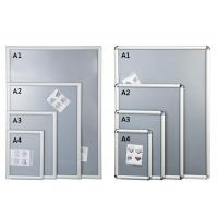 Silver Shining Wall Mounted Snap Lock Frames With One Picture Capacity Manufactures