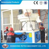 Quality Vertical ring die type good wood pelleting machine 600-800kg/h for sale