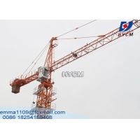 Electric Types Of Mini Tower Cranes QTZ40(4208) 4Tons Safety Equipment Manufactures