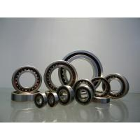 GCr15 Angular Contact Ball Bearing 10mm - 200mm ID Range With Single / Double Row Manufactures
