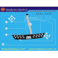 LED Self Adhesive Waterproof Membrane Switch , Poly Embossed Push Button Switch Manufactures