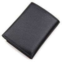 Three Fold Credit Card Money Holder Wallets For Men OEM / ODM Available Manufactures