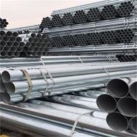 Half Circle Galvanized Steel Pipe / Corrugated Steel Tube Plain Ends Manufactures