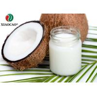 Food Grade Certified Organic Coconut Oil , Organic Refined Coconut Oil Moisture Hair Manufactures