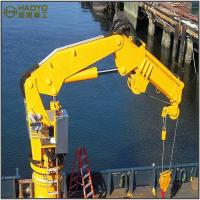 China Ship Knuckle Boom Length of Crane Certification Manufacturer Manufactures