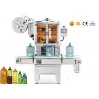 Mineral Shrink Sleeve Label Applicator / Labeling Machine for 3 Gallon water bottle Manufactures