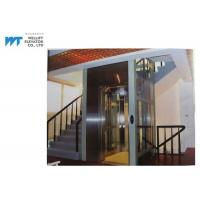 China Vibration Proof Residential Home Elevators Machine Room Less Traction Type Max Travel 12M on sale