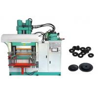 Stable Rubber Injection Moulding Machine , 3000cc Vulcanizing Rubber Mould Making Machine Manufactures