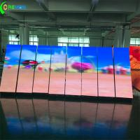 Internal P2 P3 Large LED Video Screens Front Access Fulll Color With Magnet Manufactures