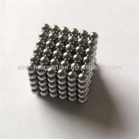 Quality D5mm Neocube Neodymium Magnet Balls for sale