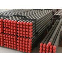 High Strength Rock Drill Rods Thread Types , Drill Steel Rod ISO Certification Manufactures