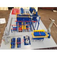 Customized Power Green Sand Moulding Machine / Sand Casting Machine Resin Sand Casting Process Manufactures