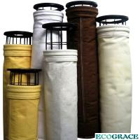 Air Filtration Baghouse P84 Filter Bags , Pulse Jet Bag Filter Dust Collector Manufactures