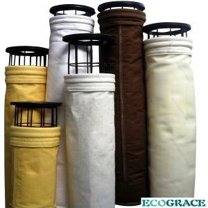 P84 Polyamide Filter Industrial Filter Bags Fire retardant Filter Media Manufactures