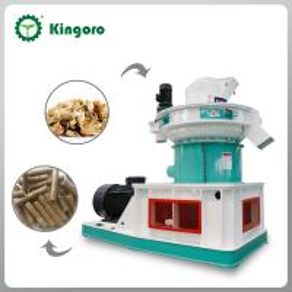 Quality Automatic Lubrication 6-12mm Size Wood Pellet Machine SZLH560 for sale