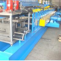 5.5KW Metal Gutter Roll Forming Machine With PLC Control System Manufactures