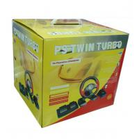 PS2/PC Twin Turbo Race Steering Wheel Manufactures