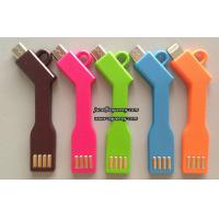 China Portable Key Shaped Style Lines 5Pin Micro USB Charging Sync Data Cable on sale