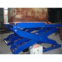 3.0 ton Hydraulic Motorcycle Lift , Electric Scissor Lift  Customizable Manufactures