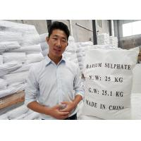 HS code 2833270000 Micronized Barium Sulfate Powder Industrial With High Affinity Manufactures