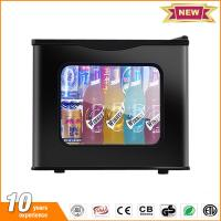 20L hotel mini fridge glass door thermoelectric small refrigerator price with lock Manufactures