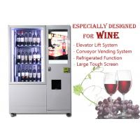 Automatic Smart Multimedia Wine Vending Machine With Elevator System , Juice Beer Vending Kiosk Manufactures