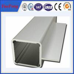 6063 T5 Threaded Aluminum Tube, aluminum extrusion aluminium pipe profiles Manufactures
