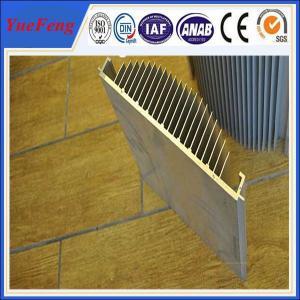 Quality aluminium profile extrusion heat sink,anodized aluminum alloy profile manufactur for sale