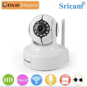 China Sricam SP011 H.264 pan tilt Support 128G TF Card 720P long range wireless cctv camera on sale