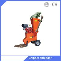 Gasoline engine driven branch chipper brush chipper with high quality Manufactures