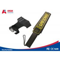 Portable Hand Held Metal Detector Wand For Police Office Security Check Manufactures