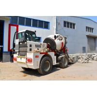 Yuchai Engine Automatic Feeding Mobile Cement Mixer Trucks With 2 Cubic Meter Output Manufactures