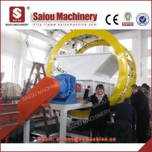 single double shaft shredder machine plastic tire Shredder tyre shredder Manufactures