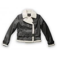 Fashion Ladies PU Jacket With Fur Collar (1351621) Manufactures