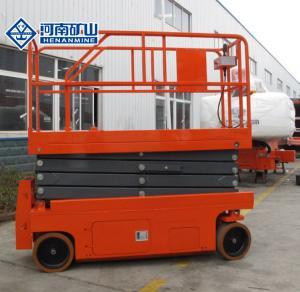 China Hydraulic Scissor Lift Platform Multi Color M3 - M5 Work Duty Q235b Material on sale