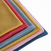 China Microfiber Cleaning Cloth, Absorbs Water Very Fast, Very Soft on sale