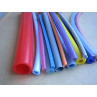 China Bent Silicone Braided Rubber Hose on sale