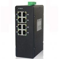 8-port unmanaged 10/100/1000M industrial Ethernet switch, DIN rail, double power supply Manufactures
