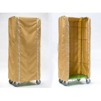Light Duty Roll Container Cover Weather Proof Customized Size PE Material Manufactures