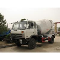 China 4M3 Dongfeng Concrete Mixer Truck 3 - 7cubic Cement With Opitional Colors on sale