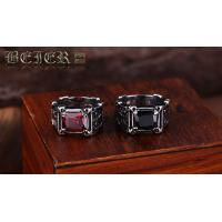 Wholesale stainless steel Crystal Ring for men fashion jewelry E22 Manufactures