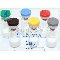 Buy cheap Delta Sleep Inducing Lyophilized Powder DSIP 2mg/ Vial Peptide CAS 62568-57-4 from wholesalers