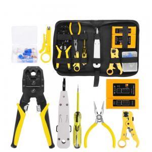 RJ45 TJ4512 CAT5 CAT5e Chrome Vanadium Network Repair Tool Kit Manufactures